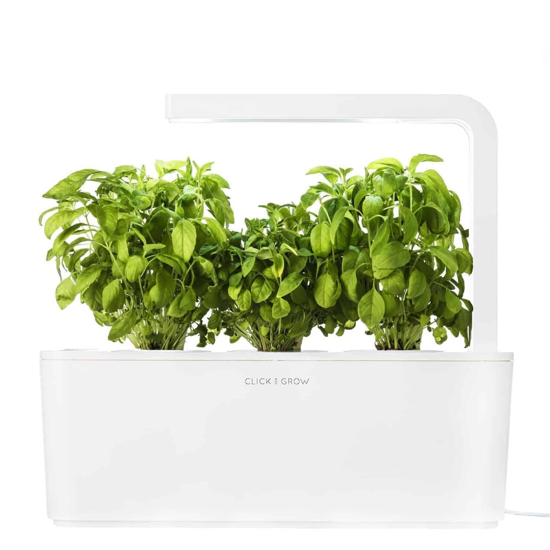 click & grow indoor smart herb garden - cook'd